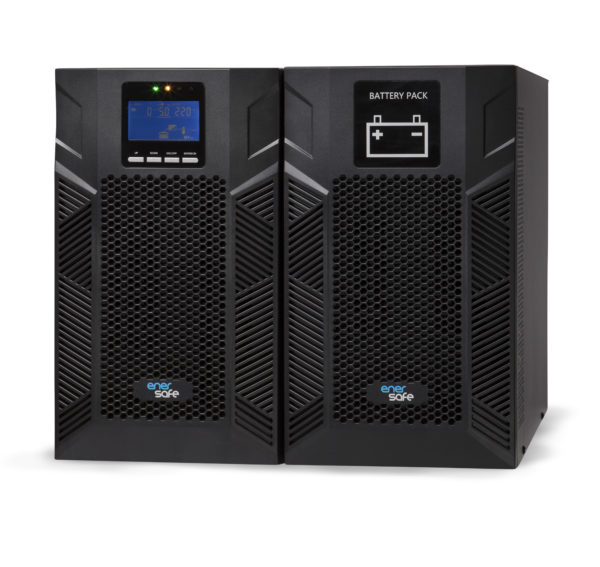Enersafe Banco de baterías B-BAT ESOL T-E 3KVA BPESOLTE-3KVACB