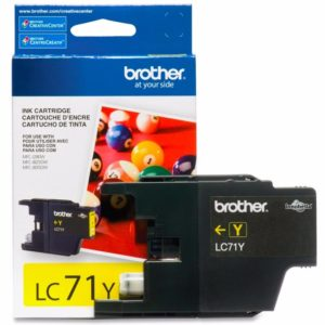 BROTHER Tinta Amarilla LC-71Y