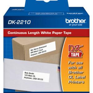 Brother Etiqueta adhesiva DK-2210