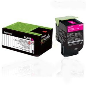 Lexmark Toner 808XM Magenta 80C8XM0