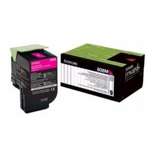 Lexmark Toner 808SM Magenta 80C8SM0