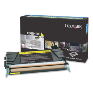 Lexmark Toner C748 Amarillo C748H1YG
