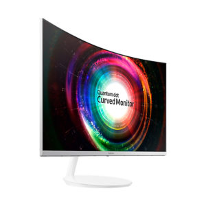 Samsung Monitor LC32H711QELXZS Curved 32
