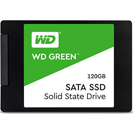 "Western Digital Disco SSD 120GB Green 2.5"" WDS120G2G0A"