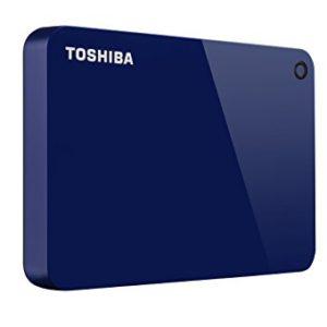 TOSHIBA Disco Duro Externo Canvio Advance Azul V9 1TB HDTC910XL3AA