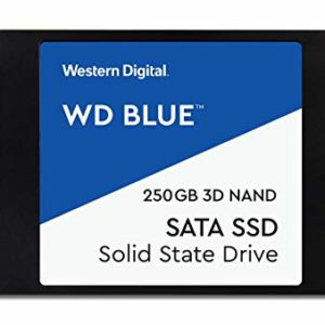 Western Digital Disco SSD 250GB Blue 3D NAND SATA 3 2.5