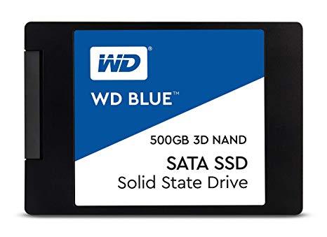 Western Digital Disco SSD 500GB Blue 3D NAND WDS500G2B0A
