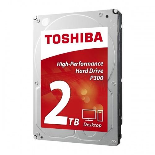 "Toshiba Disco Duro Interno Computador 2TB 3.5"" P300 HDWD120XZSTA"