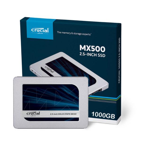 "Crucial Disco SSD 1TB MX500 2.5"" CT1000MX500SSD1"