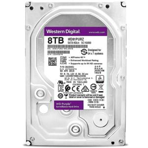 Western Digital Disco Duro Interno Videovigilancia 8TB Purple 3.5 WD81PURZ