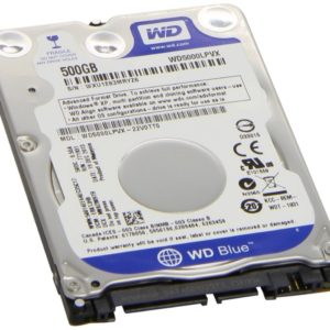 Western Digital Disco Duro Interno Notebook 500GB Sata3 2.5