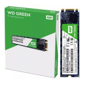 Western Digital Disco SSD 120GB M.2 2280 Green WDS120G2G0B