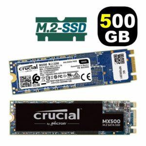 Crucial Disco SSD 500GB MX500 M.2 2280 CT500MX500SSD4
