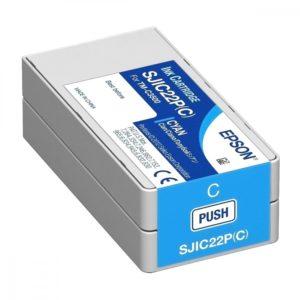 Epson Tinta SJIC22P Cyan C33S020581