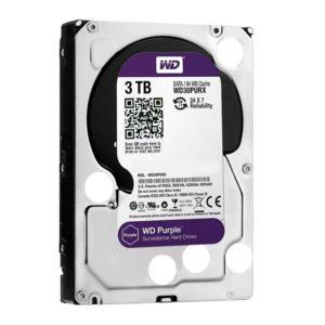 Western Digital Disco Duro Interno Videovigilancia 3TB Purple 3.5 WD30PURZ