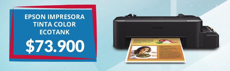 EPSON Impresora Tinta Color EcoTank L120 C11CD76203