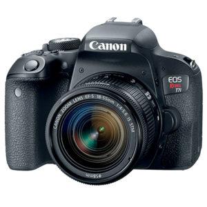 Canon Camara Fotográfica EOS REBEL T7I 18-55