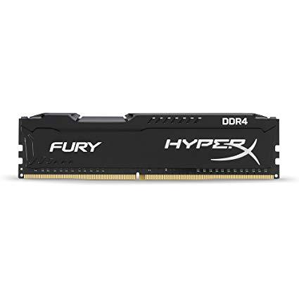 Kingston Memoria Ram DDR4 HyperX FURY 4GB 2666MHz PC/servidor HX426C15FB/4