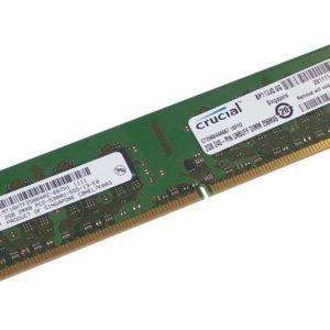 Crucial Memoria Ram DDR2 2GB 667MHz Ordenador sobremesa CT25664AA667