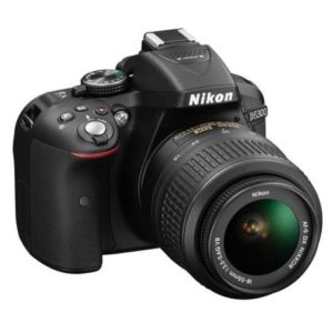 Nikon Cámara Fotográfica D5300 C/LENTE 18-55mm AF-P VR G DX
