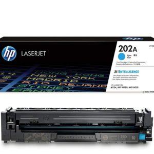 HP Toner 202A Cyan CF501A