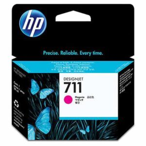 HP Tinta 711 Tripack Magenta CZ135A 3 Cartuchos