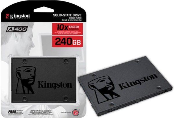 Kingston Disco SSD 240gb A400 Sa400s37