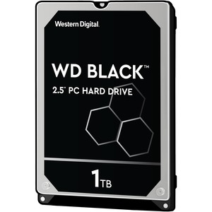 Western Digital Disco Duro Interno 1TB BLACK 64MB 2.5IN SATA 6GB/S 7200 RPM WD10SPSX