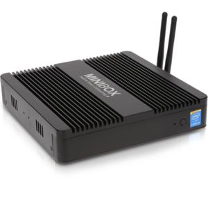 Minibox Mini PC Pro 5 Corporate Fanless I5 4200u 8GB RAM SSD 240GB MBFMPRO58G24S