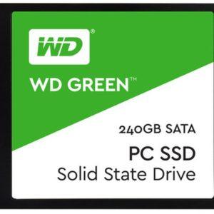 """Western Digital Disco SSD 240GB Green 2.5"""" WDS240G2G0A"""