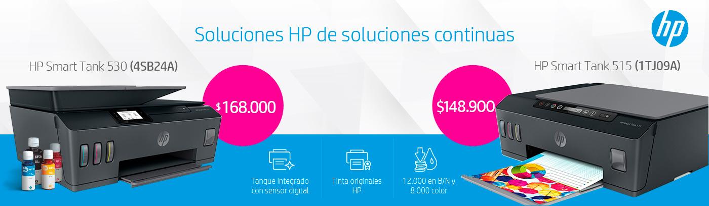 Impresoras HP 530 y 515 mejores precios