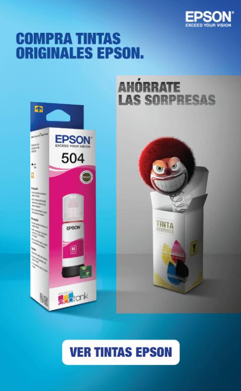 Tintas originales Epson al mejor precio