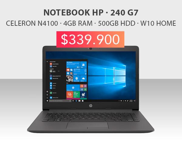 Oferta notebook HP 240 G7